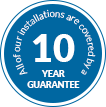 10 year GUARANTEE windows, doors, conservatories